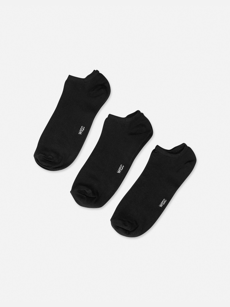 Basic low cut socks 3-pack