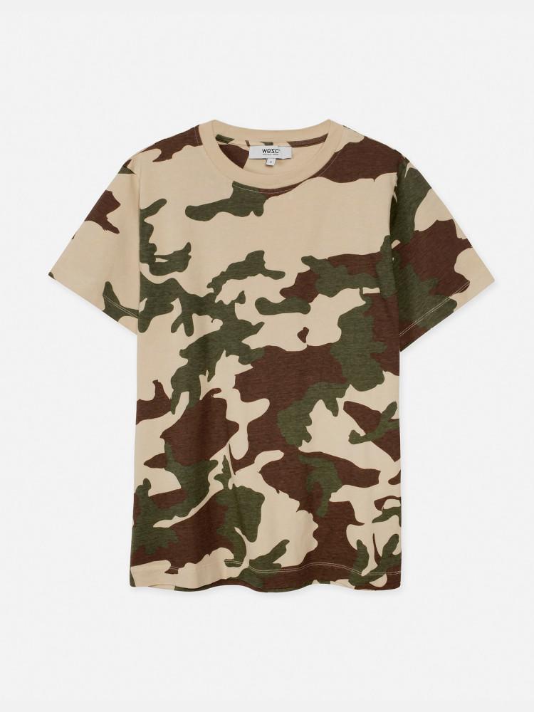 Victoria Woodland t-shirt light khaki